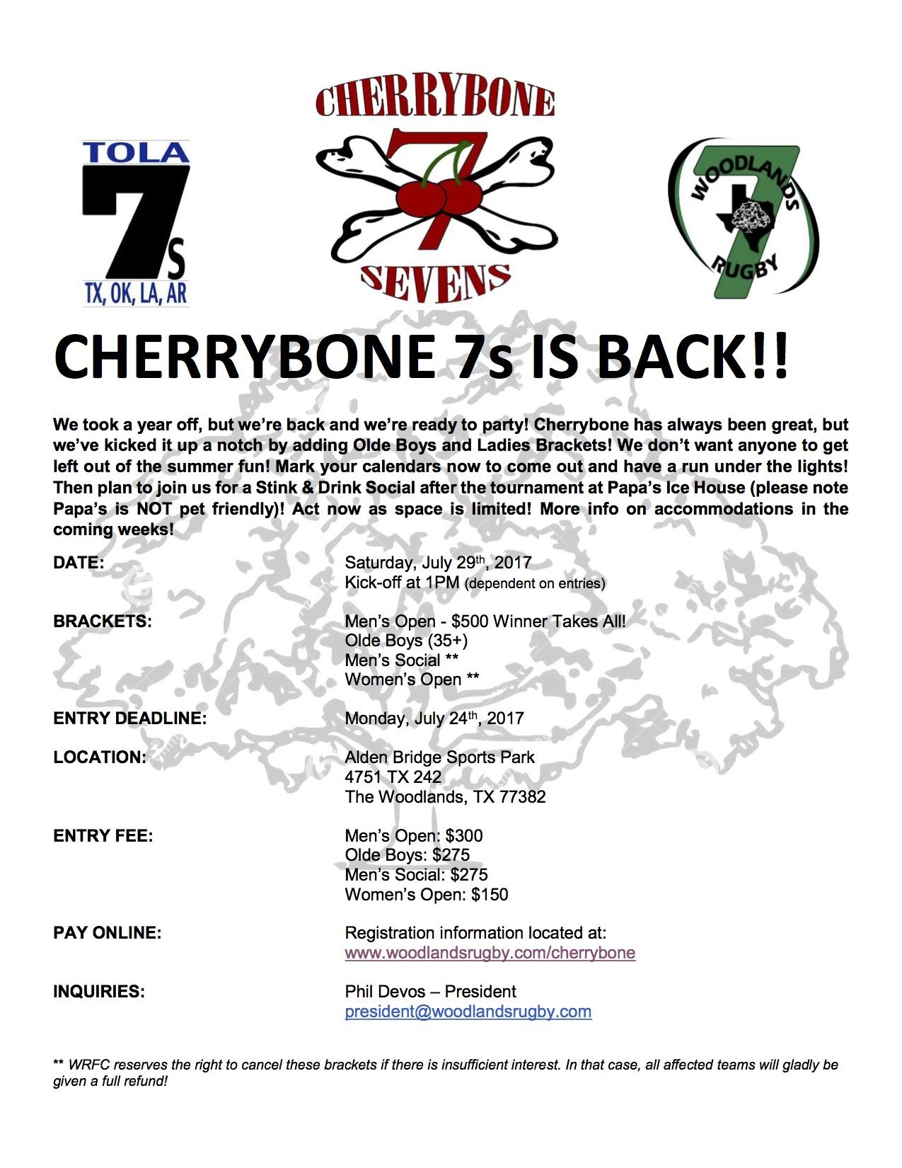 Cherrybone 7s